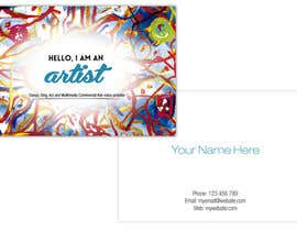 #6 para Design some Business Cards for an Artist who Sing, Dance, Act, Voice Over, Performing Art por murdpower