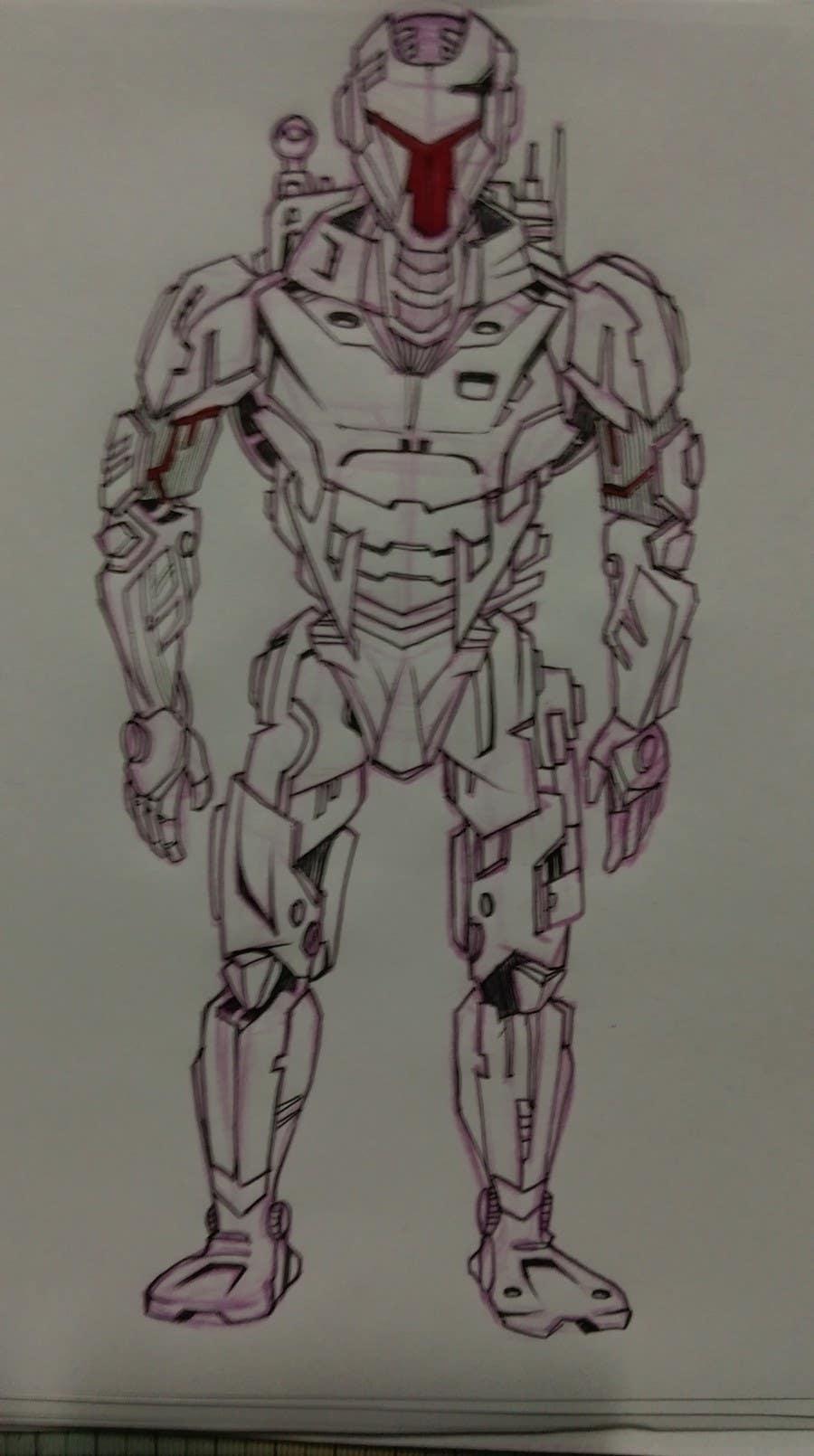 Entry 5 By Heinrich7 For Robotics Design Sketch Freelancer