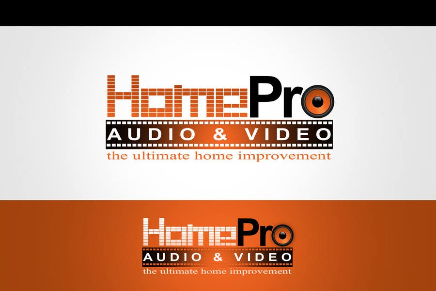 Contest Entry #320 for Logo Design for HomePro Audio & Video