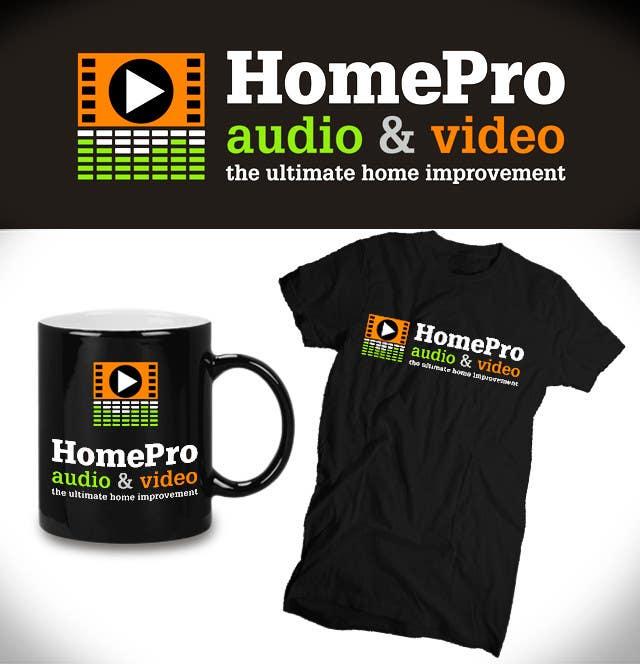 Bài tham dự cuộc thi #                                        207                                      cho                                         Logo Design for HomePro Audio & Video