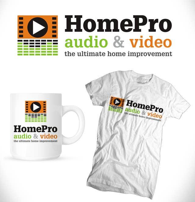 Bài tham dự cuộc thi #                                        216                                      cho                                         Logo Design for HomePro Audio & Video