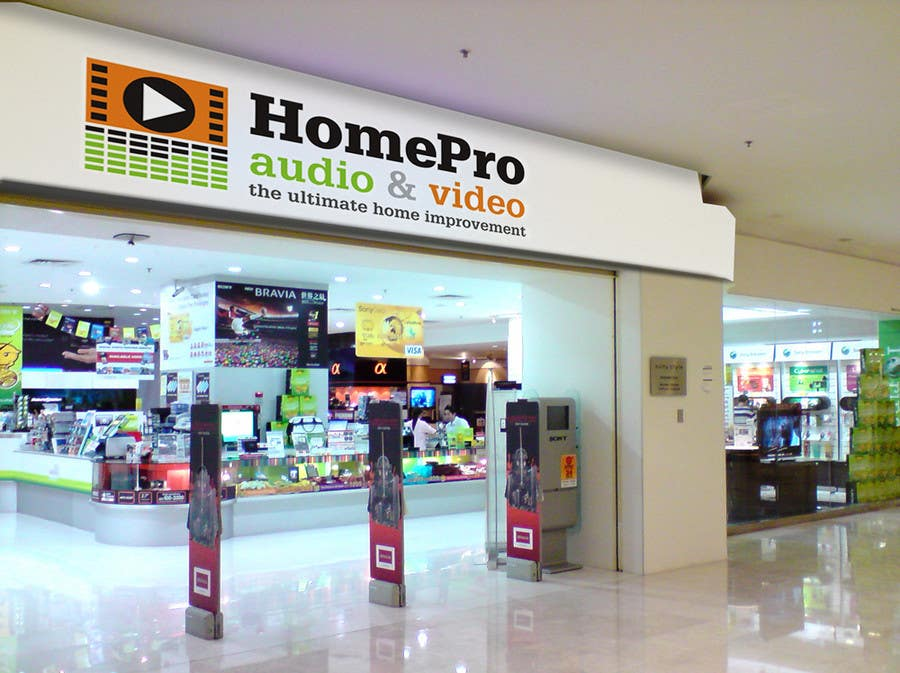Contest Entry #283 for Logo Design for HomePro Audio & Video