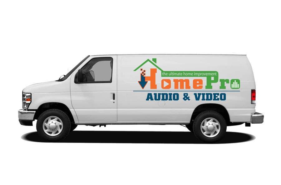 Bài tham dự cuộc thi #                                        331                                      cho                                         Logo Design for HomePro Audio & Video