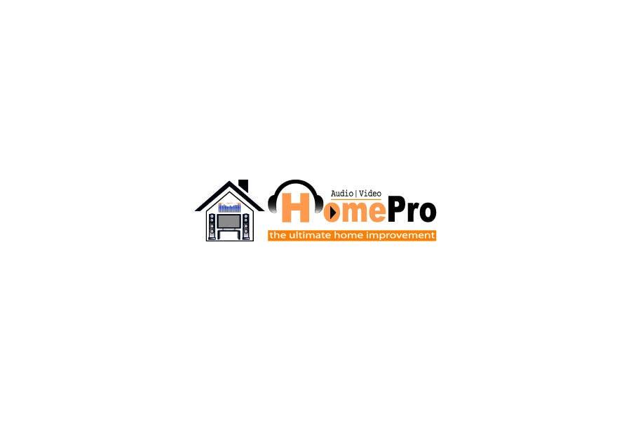 Bài tham dự cuộc thi #                                        240                                      cho                                         Logo Design for HomePro Audio & Video