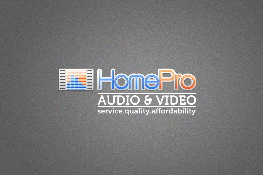 Contest Entry #250 for Logo Design for HomePro Audio & Video