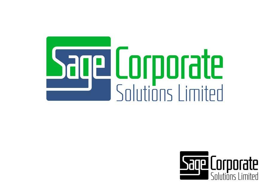 Kilpailutyö #73 kilpailussa Design a Logo for Sage Corporate Solutions Limited