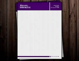 nº 31 pour Design Business Letterhead for Mason par globaldesigning