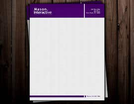 #31 untuk Design Business Letterhead for Mason oleh globaldesigning