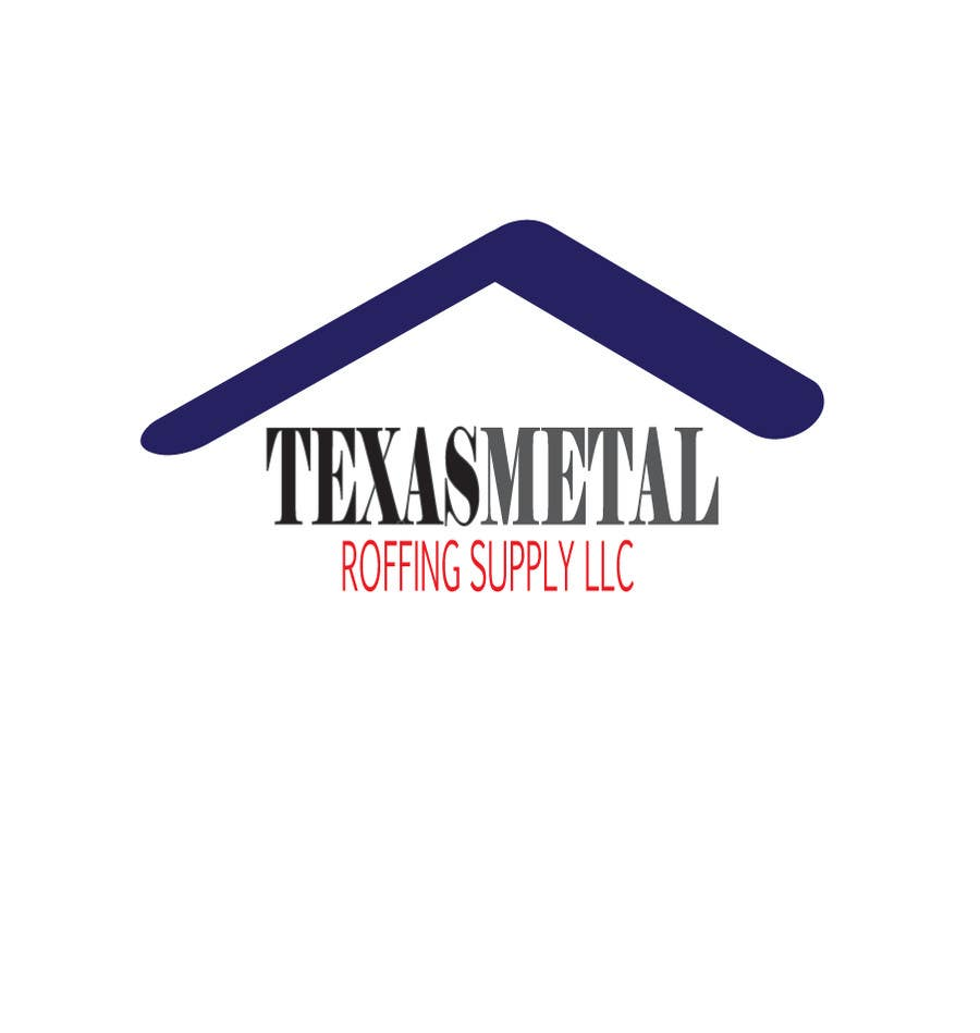 Bài tham dự cuộc thi #                                        52                                      cho                                         Design a Logo for Texas Metal Roofing Supply