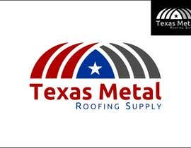#148 para Design a Logo for Texas Metal Roofing Supply por moro2707