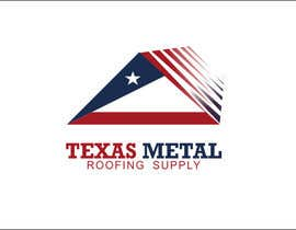 #106 for Design a Logo for Texas Metal Roofing Supply by mgliviu