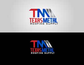 #132 for Design a Logo for Texas Metal Roofing Supply by Cbox9
