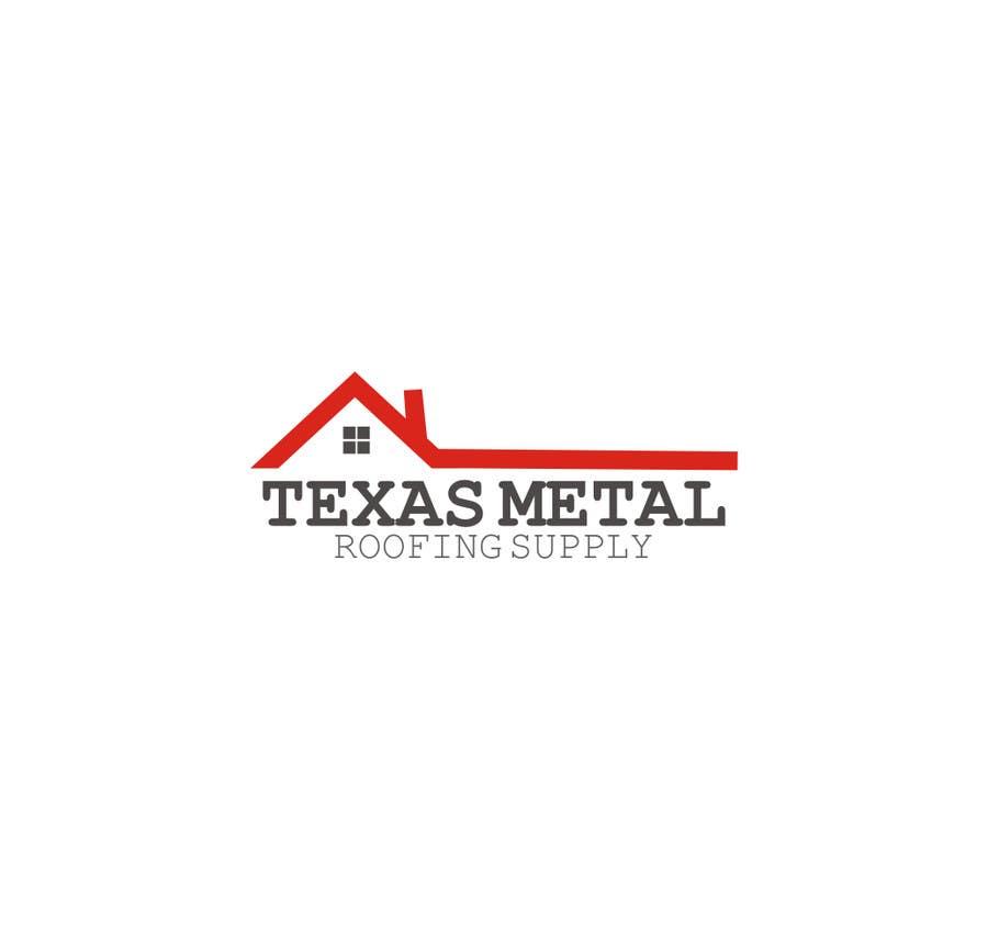 Bài tham dự cuộc thi #                                        83                                      cho                                         Design a Logo for Texas Metal Roofing Supply