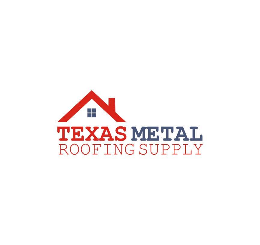 Bài tham dự cuộc thi #                                        86                                      cho                                         Design a Logo for Texas Metal Roofing Supply
