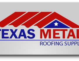 #138 for Design a Logo for Texas Metal Roofing Supply af slobodanmarjanu