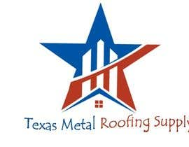 #133 para Design a Logo for Texas Metal Roofing Supply por muhamed55