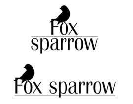 #27 for Design a Logo for Fox Sparrow by cecalli