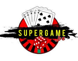 #36 para Ontwerp een Logo for supergame.be por chriskotzo