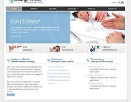fanykoh tarafından Website Design for .design-it GmbH - software.internet.consulting için no 23