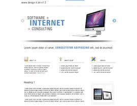 #21 untuk Website Design for .design-it GmbH - software.internet.consulting oleh kriz21