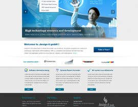 nº 24 pour Website Design for .design-it GmbH - software.internet.consulting par trojanbuster