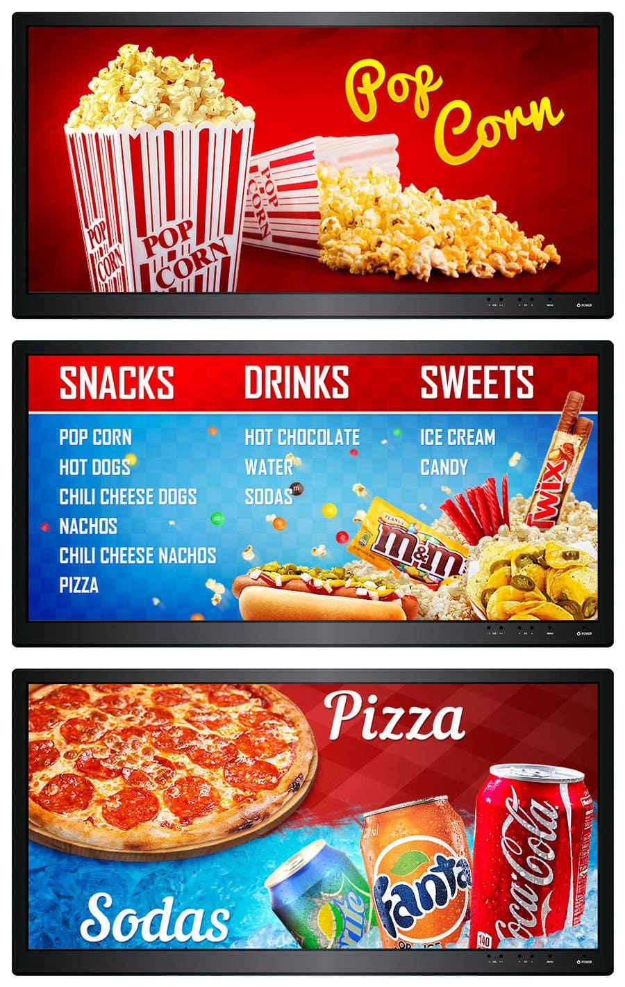 Basic Food Menu Structure