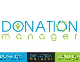 nº 101 pour Design a Logo for Donation Manager par inspirativ