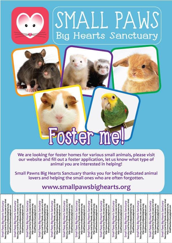 Bài tham dự cuộc thi #                                        51                                      cho                                         Design a Flyer for a small animal rescue