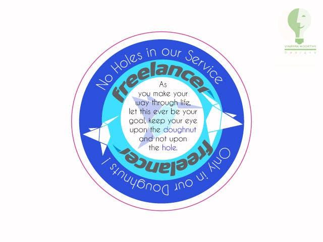 Bài tham dự cuộc thi #                                        40                                      cho                                         Help the Freelancer design team design a new die cut sticker