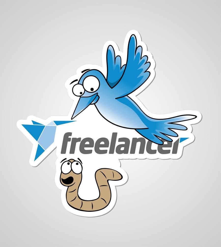 Bài tham dự cuộc thi #                                        92                                      cho                                         Help the Freelancer design team design a new die cut sticker