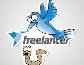nº 92 pour Help the Freelancer design team design a new die cut sticker par pixelrover