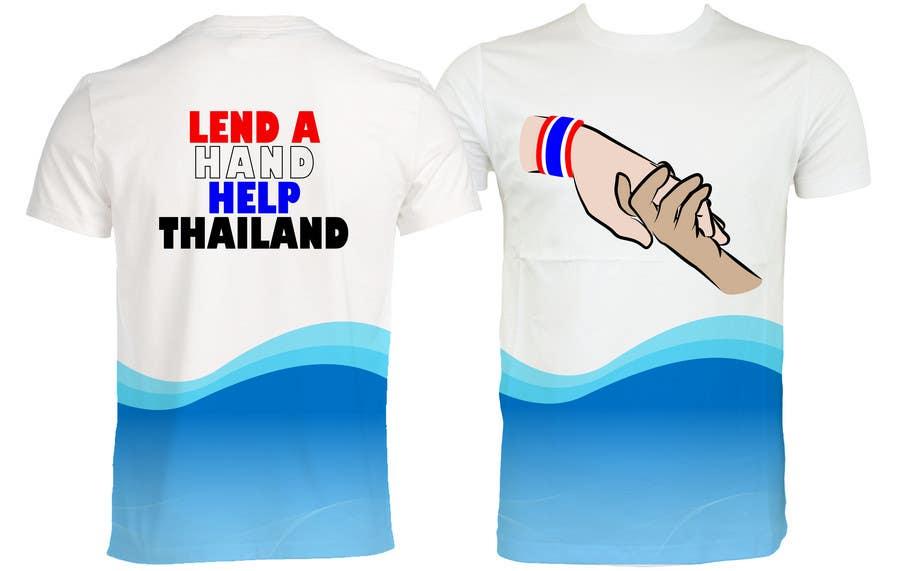 Penyertaan Peraduan #99 untuk T-Shirt Design for Thai Flood Victims