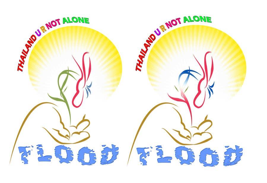 Inscrição nº 97 do Concurso para T-Shirt Design for Thai Flood Victims