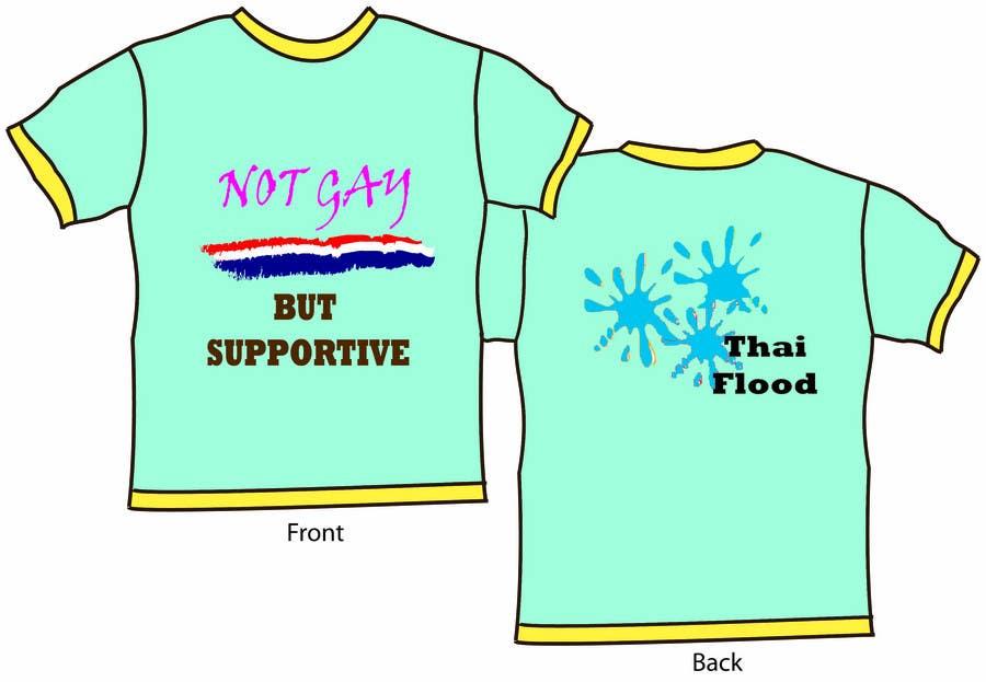 Inscrição nº 30 do Concurso para T-Shirt Design for Thai Flood Victims