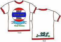 Graphic Design Inscrição do Concurso Nº44 para T-Shirt Design for Thai Flood Victims