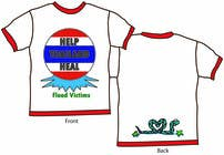 Graphic Design Entri Peraduan #44 for T-Shirt Design for Thai Flood Victims