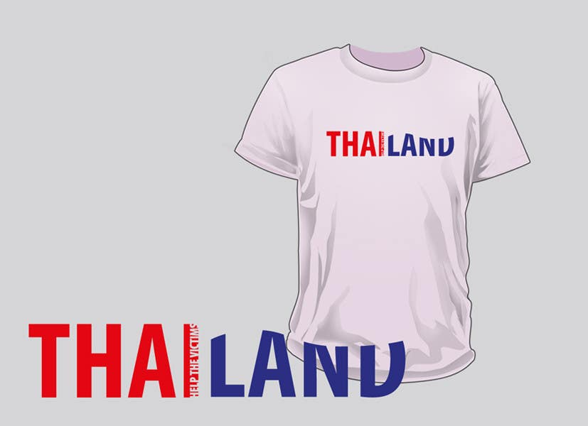 Contest Entry #59 for T-Shirt Design for Thai Flood Victims