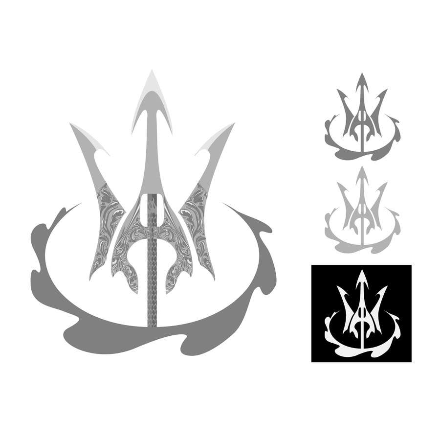 #18 for High Quality Fantasy Trident Staff Logo Design by alwe17