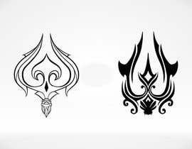 nº 15 pour High Quality Fantasy Trident Staff Logo Design par MichaelCheung