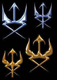 #2 for High Quality Fantasy Trident Staff Logo Design by bg1000