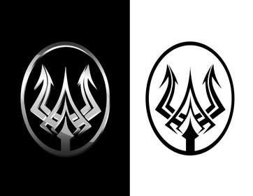 #14 for High Quality Fantasy Trident Staff Logo Design by alvinamaru