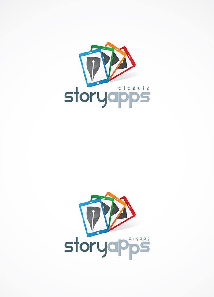 Penyertaan Peraduan #12 untuk Design a Logo for storyapps - plus two variations of logo