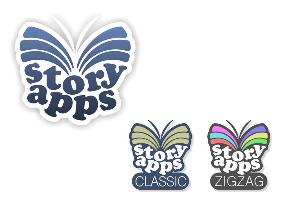 Penyertaan Peraduan #42 untuk Design a Logo for storyapps - plus two variations of logo