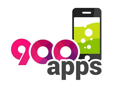 #17 for Logo design for 900apps.com mobile app business by geniedesignssl