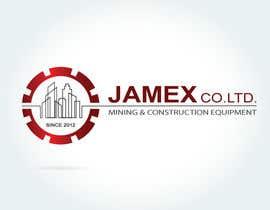 Nro 26 kilpailuun logo for jamex.co.jp a construction equipment exporter from tokyo käyttäjältä souamaria