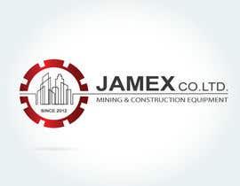 Nro 29 kilpailuun logo for jamex.co.jp a construction equipment exporter from tokyo käyttäjältä souamaria