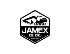 Nro 7 kilpailuun logo for jamex.co.jp a construction equipment exporter from tokyo käyttäjältä subhamkarn01