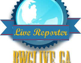 #10 for Design a Logo for bwglive.ca LIVE REPORTERS by MadalinaP