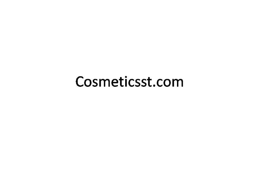 #75 for Domain name for website selling Beauty products by pavly2010