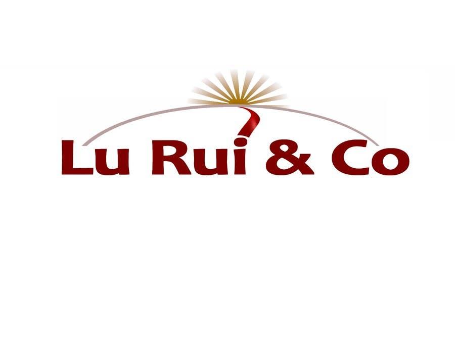 Kilpailutyö #105 kilpailussa Logo Design for Lu Rui & Co